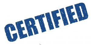 certification guarantee